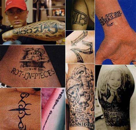 eminem tribal tattoo imma kill you