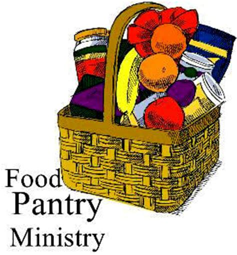 Clip Food Pantry by Food Pantry Ministry Clipart