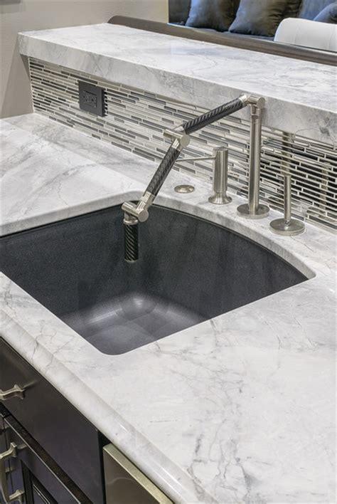 Most Popular Kitchen Faucet Arabesque White Bar Contemporary Kitchen Other Metro