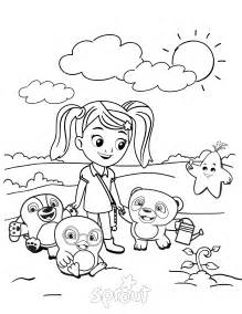 Coloring Pages Coloring Page Ruff Ruff Tweet And Dave Sprout