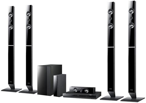 samsung htc 655w 5 1 ch dvd home theatre system wireless
