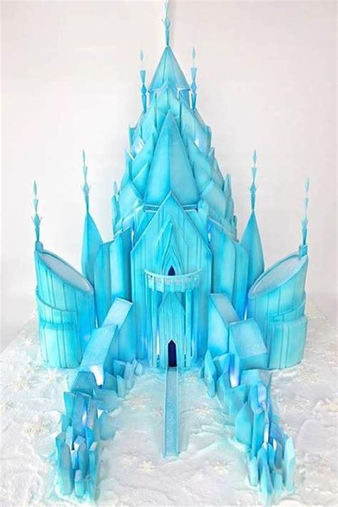 Topper Background Castle elsa castle cake car interior design