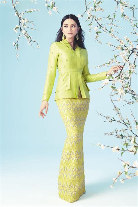 design dress terkini 2014 nur fazura peraga koleksi busana raya innai red 2014