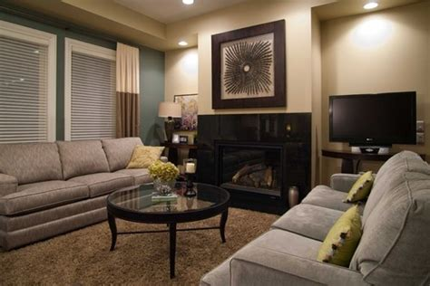beige couch with gray walls grey couch beige wall brown carpet living room
