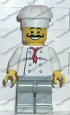 Lego Part Yellow Minifig Moustache Curly Gray Streaks In Hair lego 3383 chef chupa chups promotional set set parts