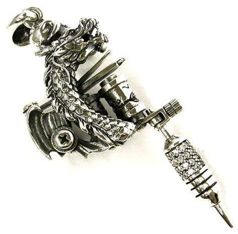 diamond tattoo gun dragon diamond tattoo machine gun solid sterling 925