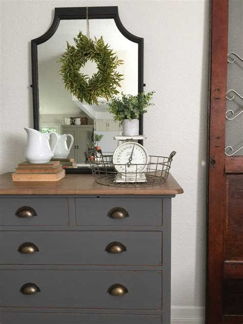 charcoal grey dresser charcoal gray dresser with a sweet little note farm