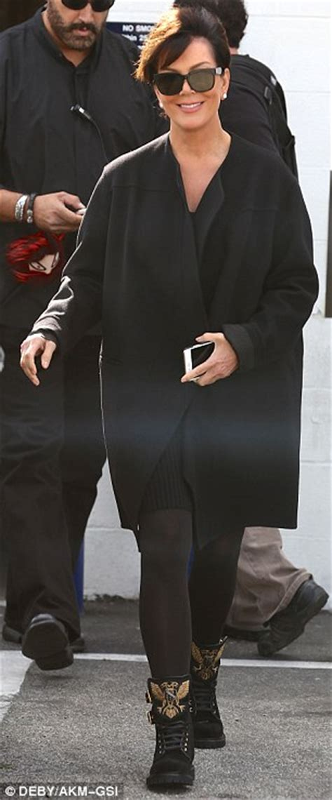 kris who turned 60 that day is set to celebrate her birthday on kris jenner cuts a youthful figure in all black as she