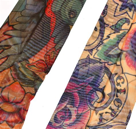 random sleeve tattoo sleeves set of 2 random designs pink