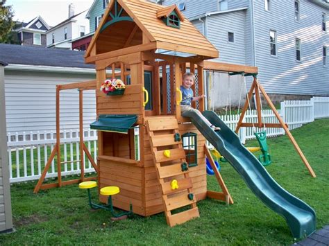 ridgeview swing set ridgeview deluxe climbing frame with slide swings and