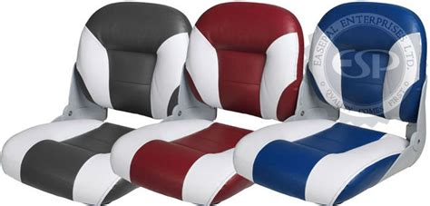 comfortable fishing boat seats 86502 advanced expedition i folding fishing boat seat