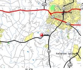 map of shelby carolina 28152 zip code shelby carolina profile homes
