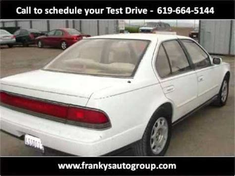 how can i learn about cars 1991 nissan 300zx on board diagnostic system 1991 nissan maxima used cars san diego ca youtube