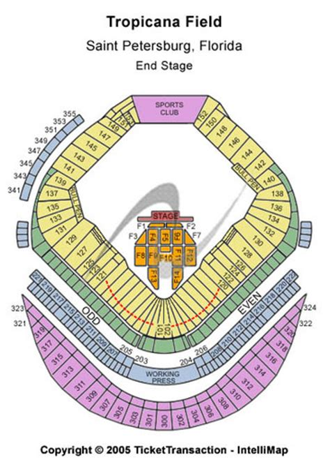 what is the seating capacity of tropicana field tropicana field tickets tropicana field in