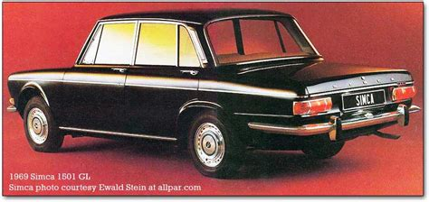 Wall Vinyl by Simca 1300 1301 And Simca 1500 1501 Cars