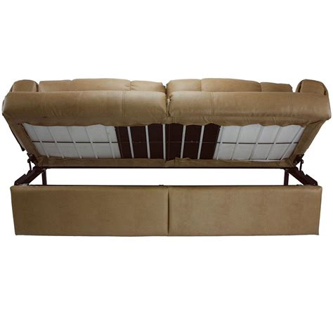 Jack Knife Sofa With Arms Legs And Kickboard Grand Slam