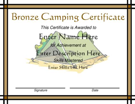 bronze certificate template contemporary border for certificate studio design
