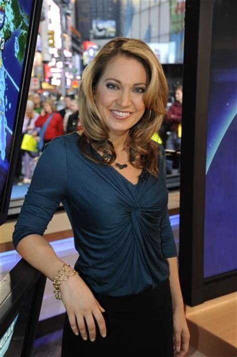 ginger z gma new hair style ginger zee weather anchor good morning america abc