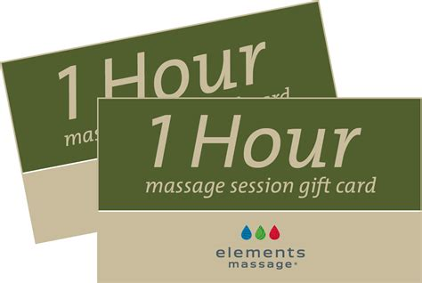 Massage Gift Card - father s day gift cards at elements massage rockville centre