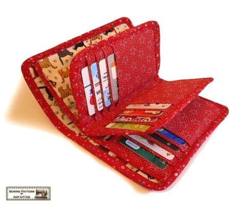 pattern sewing wallet 27 pocket wallet sewing pattern