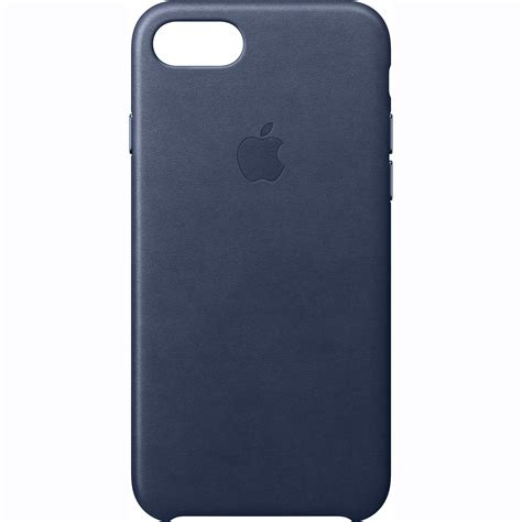 Original Apple Iphone 7 Leather Midnight Blue apple iphone 7 leather midnight blue mmy32zm a b h