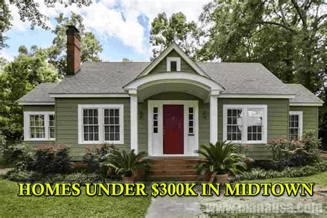 houses for sale in tallahassee shocking 33 homes for sale under 300k in midtown tallahassee