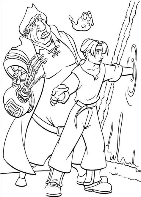 coloring page treasure planet coloring pages 9