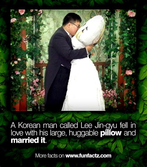 Korean Marries Pillow by A Korean Called Jin Gyu Fell In With His