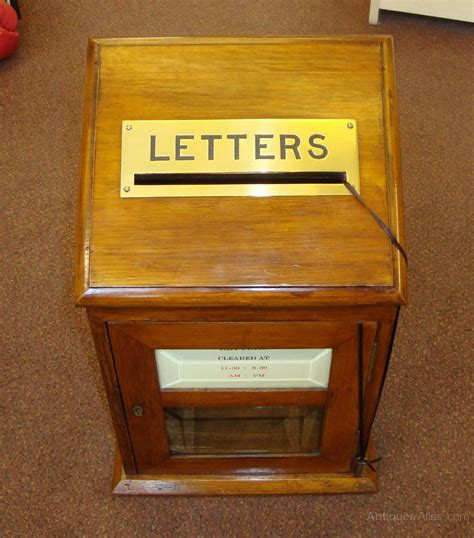 Of Letter Box antiques atlas a oak in house letter box