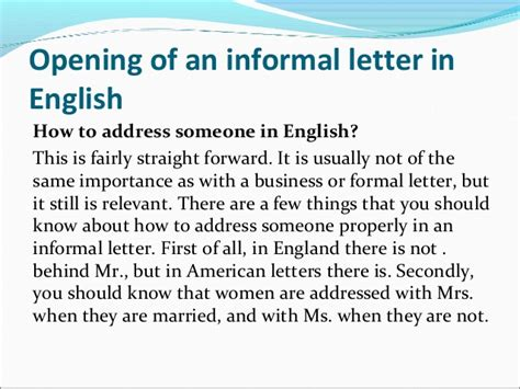 6 How To Format An Informal Letter Commerce Invoice The Ultimate Informal Letter Writing Guide