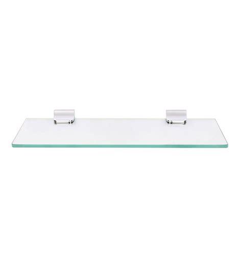 18 glass bathroom shelf regis bathroom wall glass shelf skyglas series rg gs sg