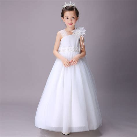 flower wedding dress for princess birthday