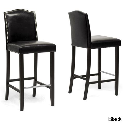 Traditional Faux Leather 30 Bar Stool By Baxton Studio by Best 25 Modern Bar Stools Ideas On