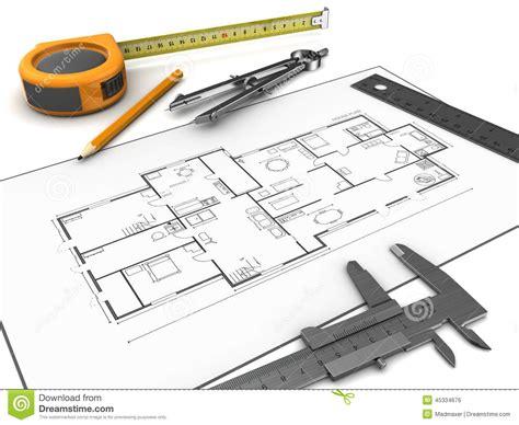 free sketching tool drawing tools stock illustration illustration of plan