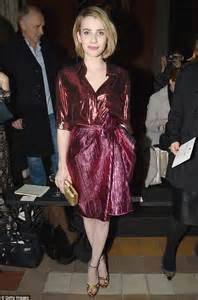 Mismatched in metallics emma roberts pulled off a daring and striking