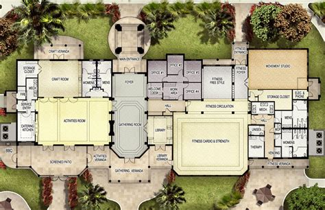 golf course clubhouse design plans