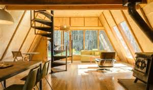 A Frame Home Interiors The Red A Frame Cabin Your Small Space Dream Tiny