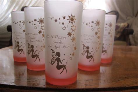 imagenes de vasos vintage vasos personalizados 50 pzas xv a 241 os boda con envio