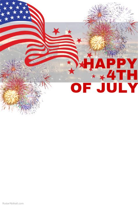 4th of july templates 4th of july template postermywall
