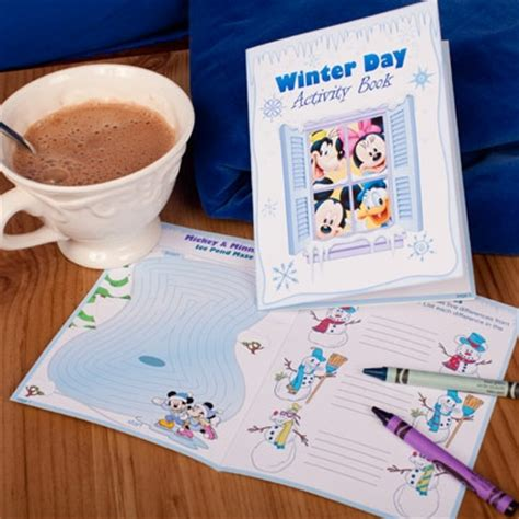 winter activity book for books mickey friends winter day activity book disney family