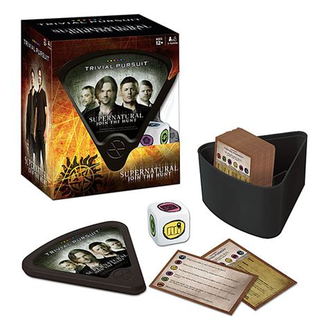 supernatural join the hunt notebook collection set of 2 books supernatural trivial pursuit