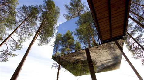 treehotel a harads contea di norrbotten