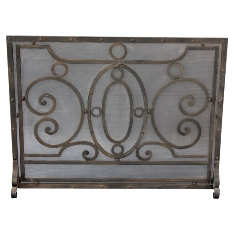 1920s wrought iron screen at 1stdibs
