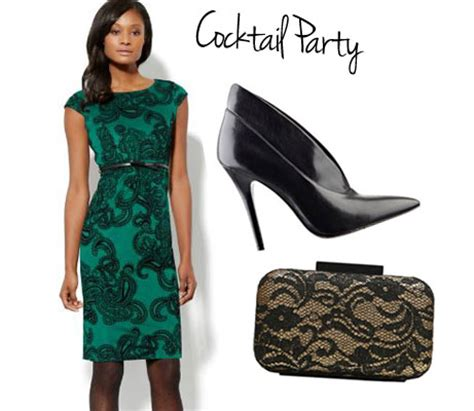 christmas party outfits attire for a cocktail party