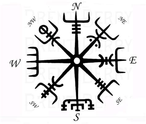 viking tattoo meaning family viking s compass vegvisir pinteres