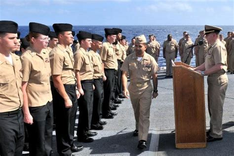 Black Master Bm Walaci navy petty officer advancement results