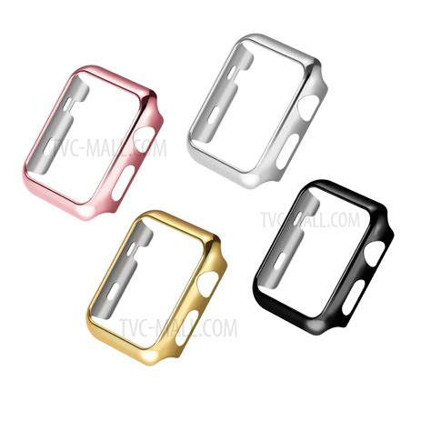 Hoco Defender Series Plating Cover For Apple Series 1 2 3 hoco defender series plating pc cover for apple 42mm series 1 series 2 black tvc mall