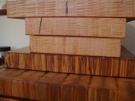Handmade Butcher Block - handmade maple end grain chopping board butcher block