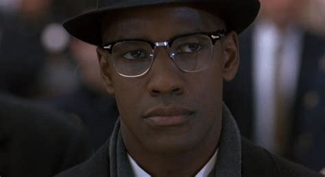 denzel washington malcolm x glasses excerpts from malcolm x the movie aliben86