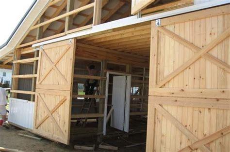 Exterior Sliding Barn Door Hardware With Crossed Braces Outdoor Sliding Barn Door Hardware